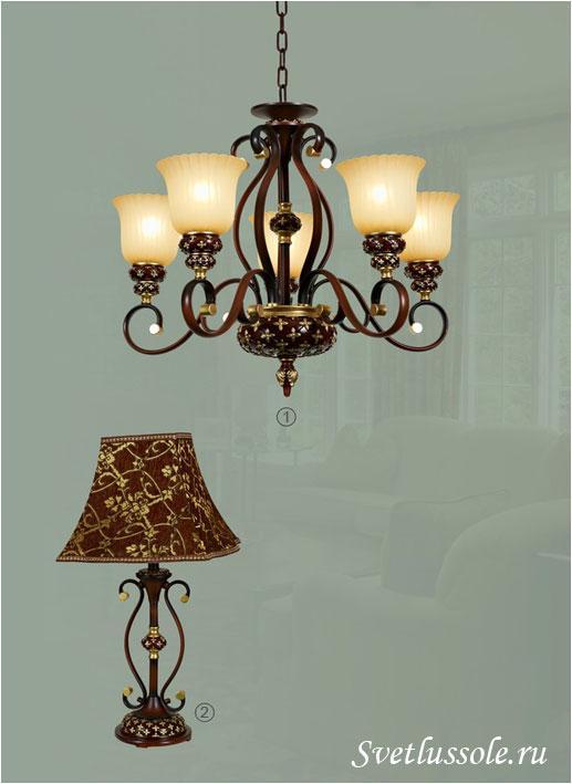 Декоративный светильник WE354.05.603_wertmark
