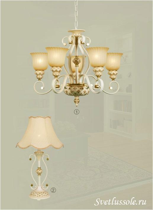 Декоративный светильник WE354.05.003_wertmark