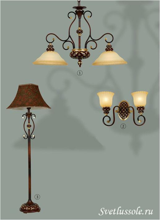 Декоративный светильник WE354.02.603_wertmark