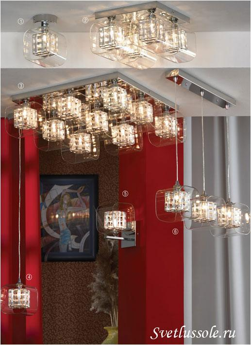 Декоративный светильник Sorso LSC-8007-04