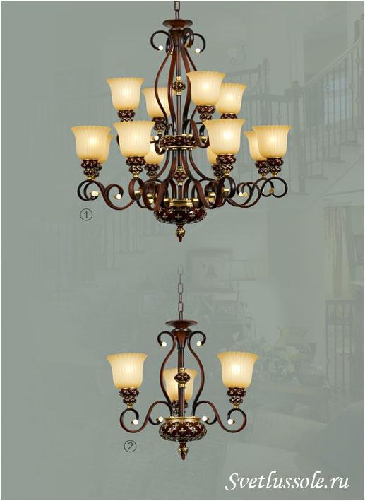 Декоративный светильник WE354.03.603_wertmark