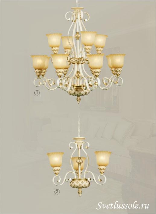 Декоративный светильник WE354.12.003_wertmark