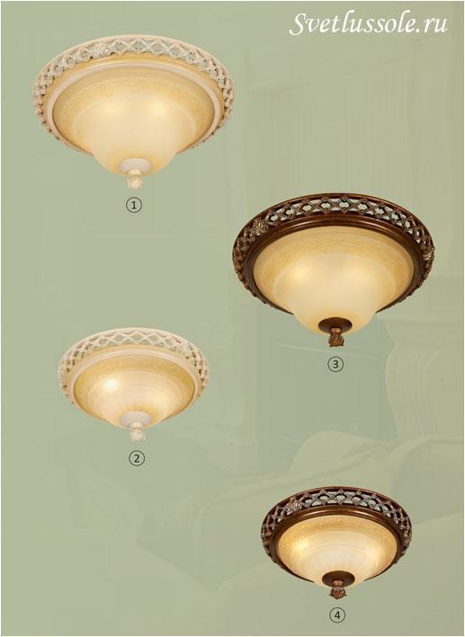 Декоративный светильник WE342.03.627_wertmark
