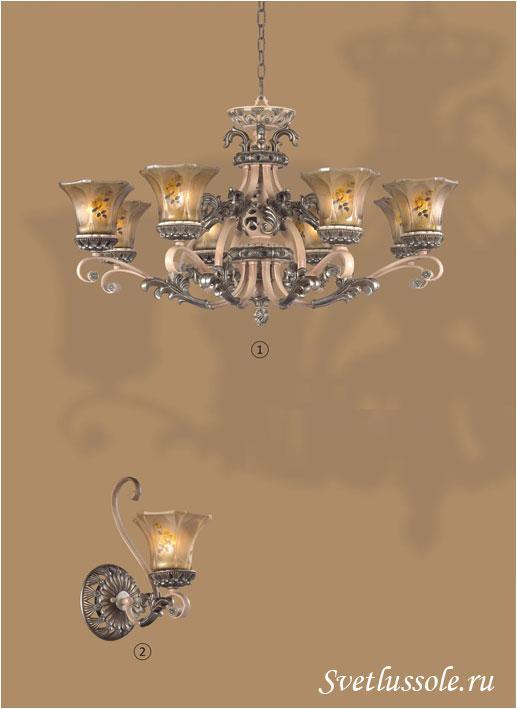 Декоративный светильник WE356.08.503_wertmark