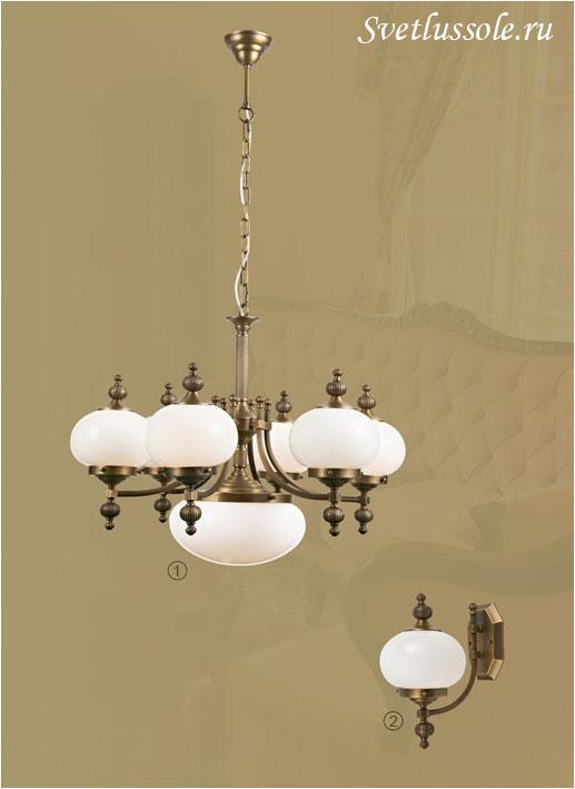 Декоративный светильник WE360.07.503_wertmark