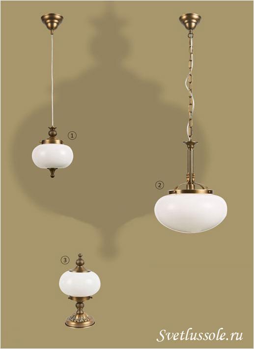 Декоративный светильник WE360.01.523_wertmark