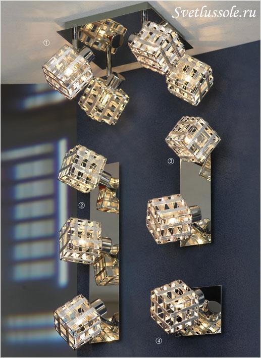 Декоративный светильник Lombardia LSN-0801-04
