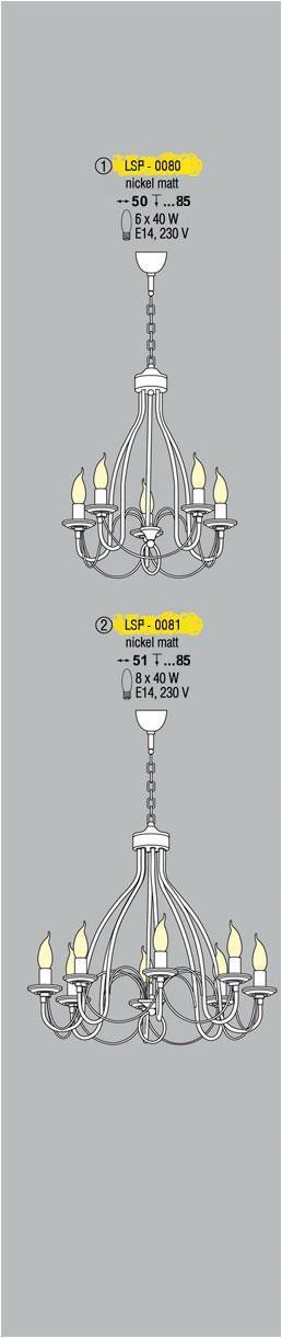 Технические характеристики светильника LSP-0080