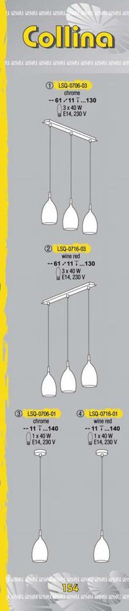 Технические характеристики светильника Collina LSQ-0706-03