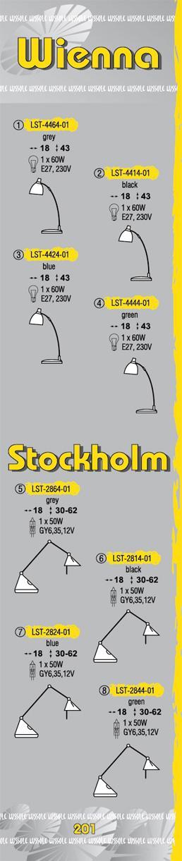Технические характеристики светильника Wienna LST-4464-01