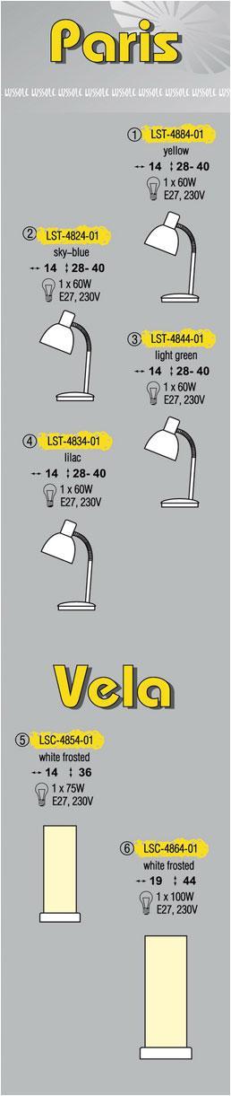 Технические характеристики светильника Paris LST-4824-01