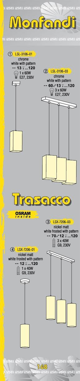 Технические характеристики светильника Monfandi_Trasacco