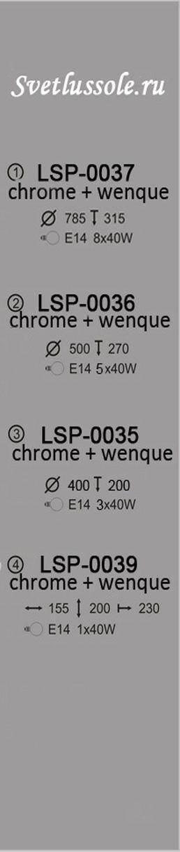 Технические характеристики светильника LSP-0036