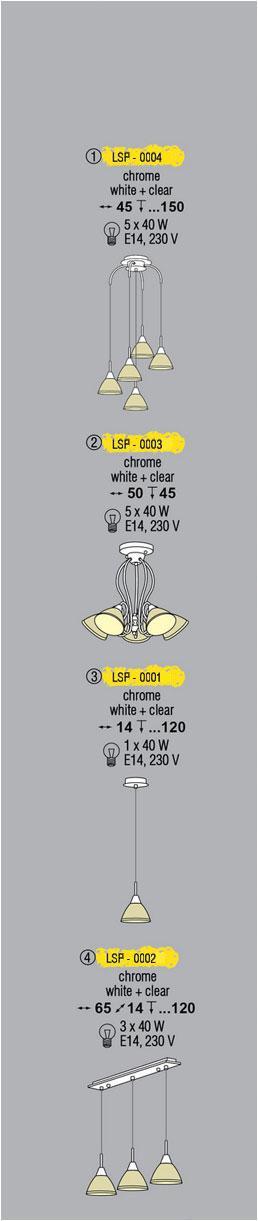 Технические характеристики светильника LSP-0003