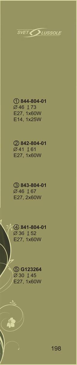 Технические характеристики светильника 841-804-01_velante
