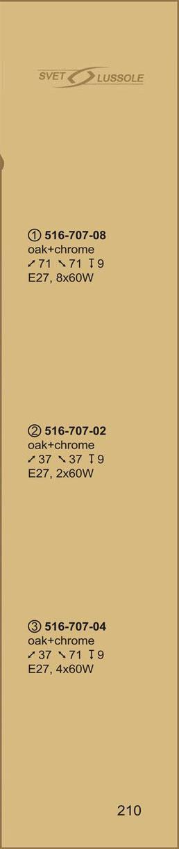 Технические характеристики светильника 516-707-08 velante