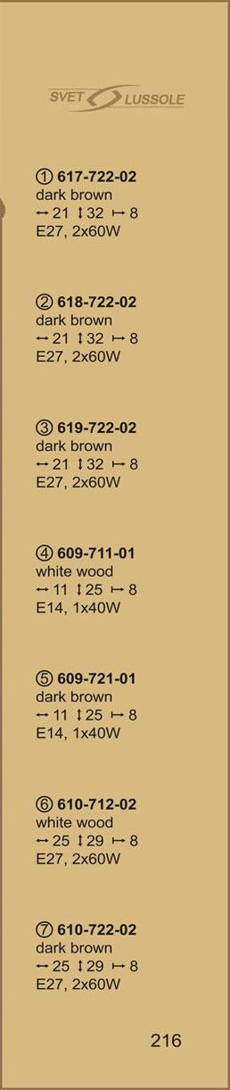 Технические характеристики светильника 617-722-02 velante