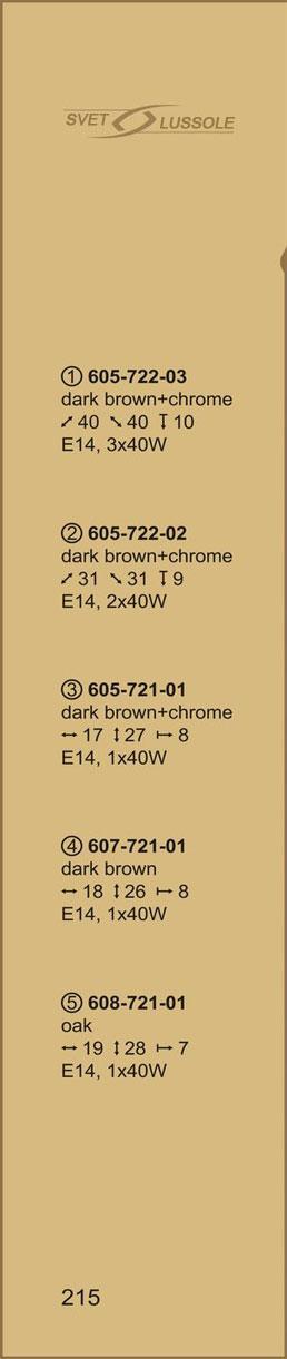 Технические характеристики светильника 605-722-03 velante