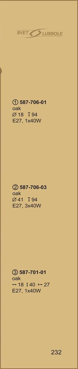 Технические характеристики светильника 587-706-03 velante