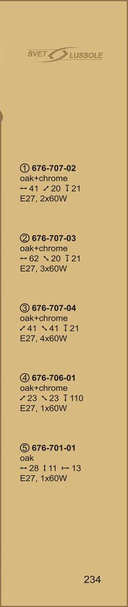 Технические характеристики светильника 676-707-03 velante