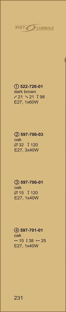 Технические характеристики светильника 597-706-03 velante