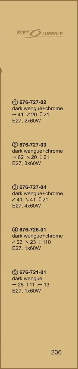 Технические характеристики светильника 676-727-03 velante