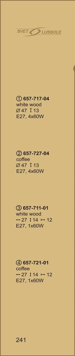 Технические характеристики светильника 657-717-04 velante