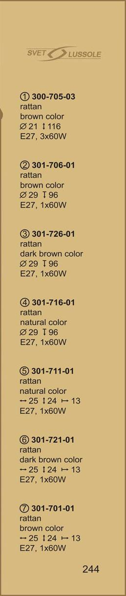 Технические характеристики светильника 301-706-01 velante