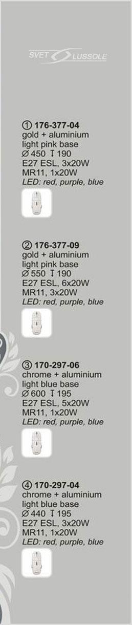 Технические характеристики светильника 170-297-06 velante