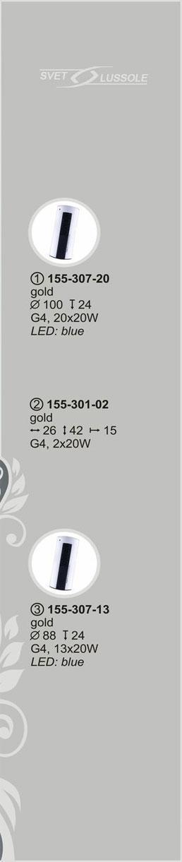 Технические характеристики светильника 155-307-13 velante