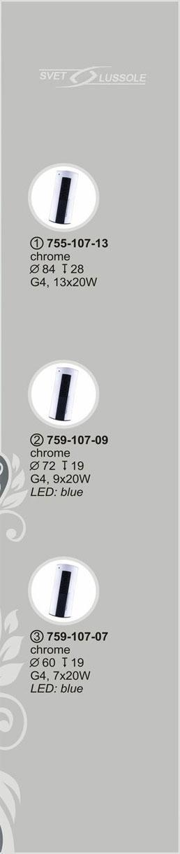 Технические характеристики светильника 759-107-07 velante