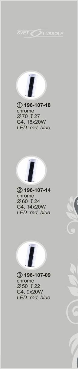 Технические характеристики светильника 196-107-14 velante