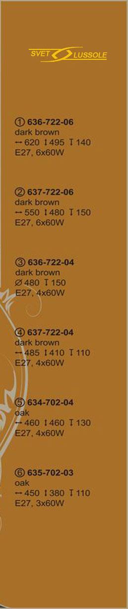 Технические характеристики светильника 634-702-04_velante