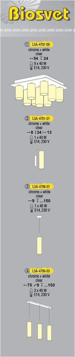 Технические характеристики светильника Biosvet LSA-4706-01